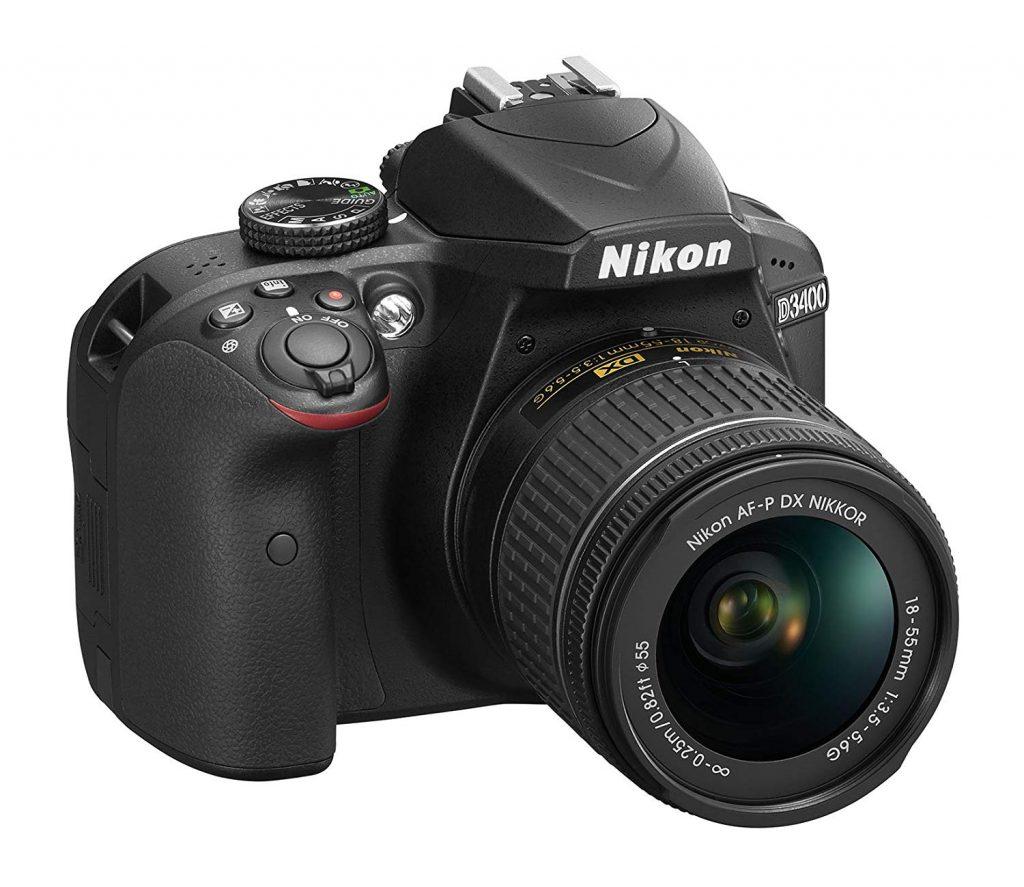 DSLR Camera - Nikon D3400 + AF-P DX NIKKOR 18-55mm f/3.5-5.6G VR