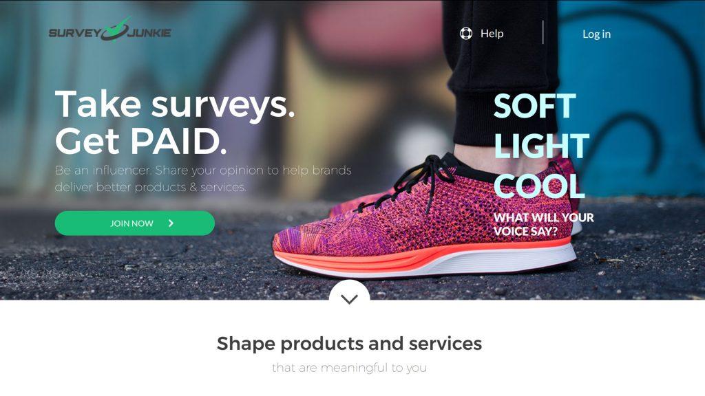 Online Survey #1 - Survey Junkies